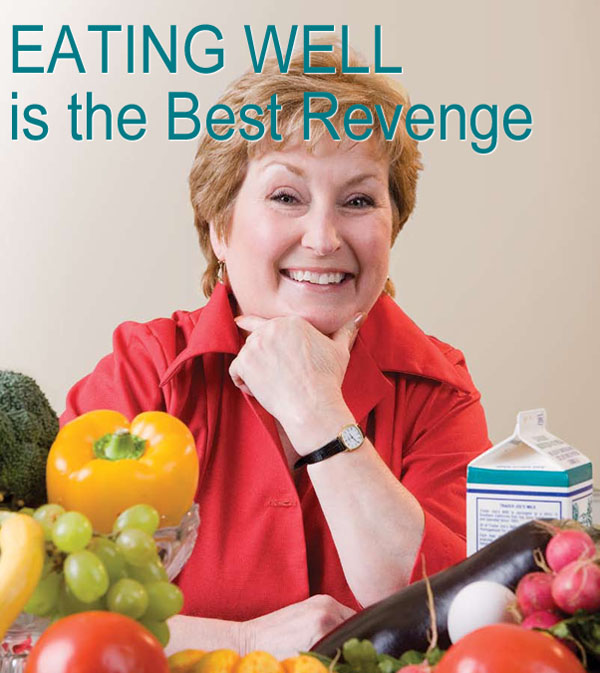 Larrian Gillespie, author of The Menopause Diet, Idiots Guide to Nutrition, and more